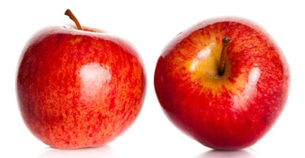 leite maçã e roçar