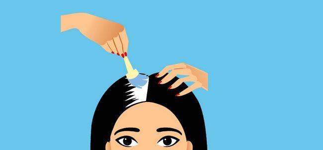 10 Passos básicos para colorir o cabelo cinza Photo