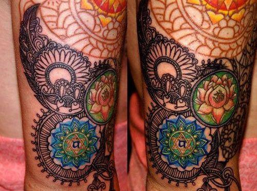 10 melhores desenhos sânscrito tatuagem Photo