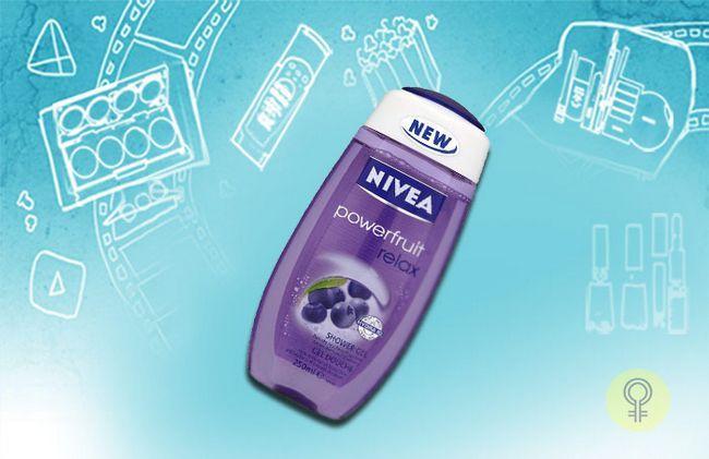 Nivea Powerfruit Relax Gel de banho