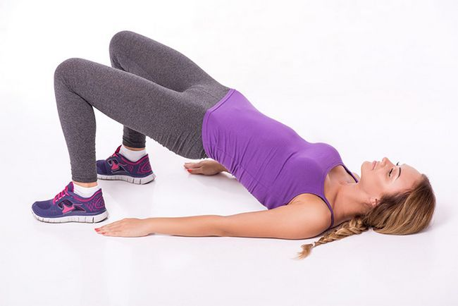 Exercício chão Para Voltar Exercício