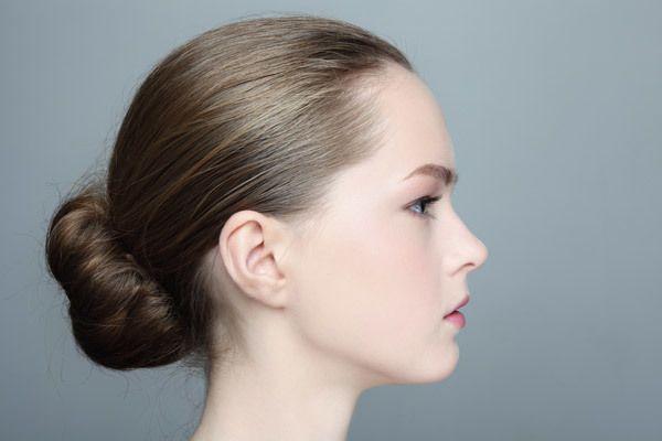 Bolo de canela penteado