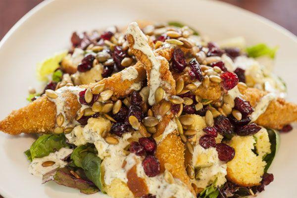 Salada de Frango marroquino