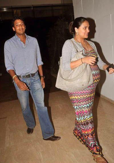 lara grávida fotos Dutta