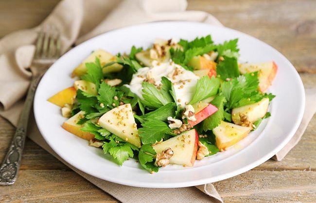 Noz-E-Apple Salad
