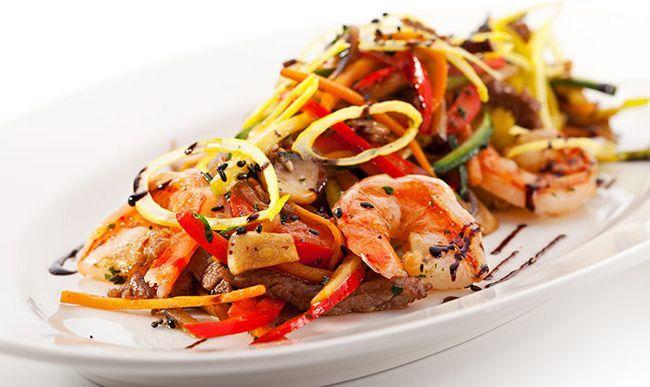 Camarão-salada