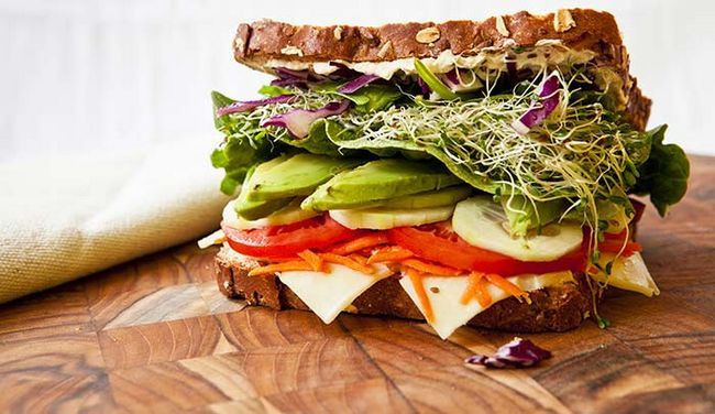 Feijão-Sandwich