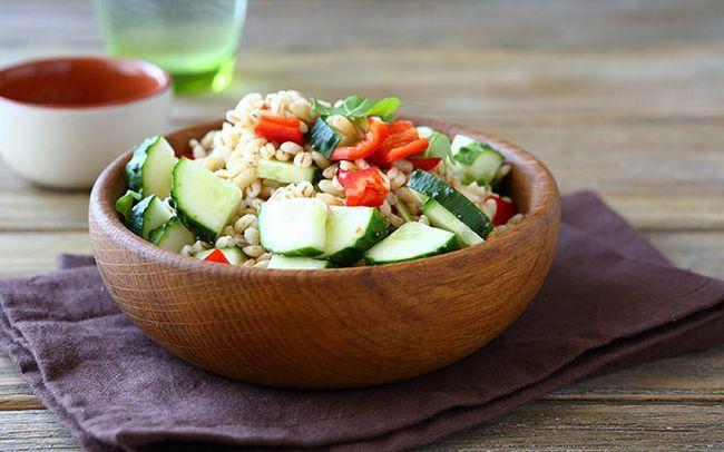 Almond-E-Barley-Salad