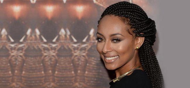 10 impressionante trançado Updo Penteados da Mulher Negra Photo