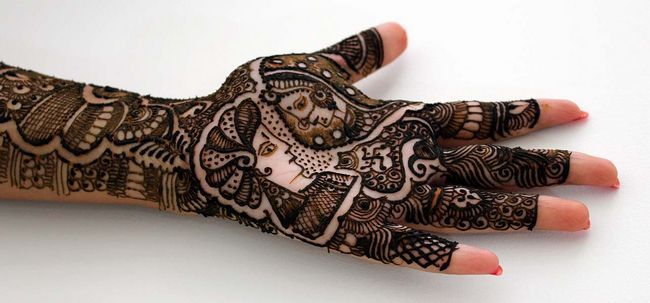10 Designs Mehndi deslumbrante para os braços Photo