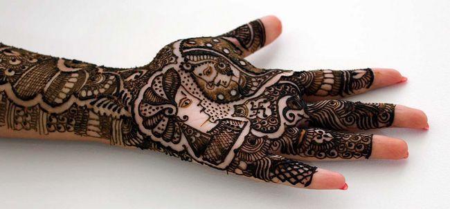 10 Designs Mehndi deslumbrante para os braços Photo