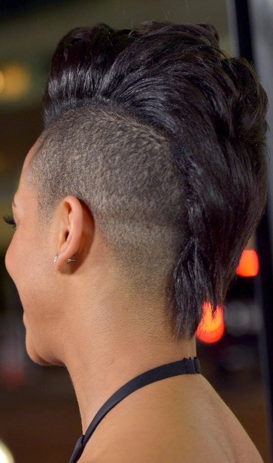Side-Shaven Mohawk