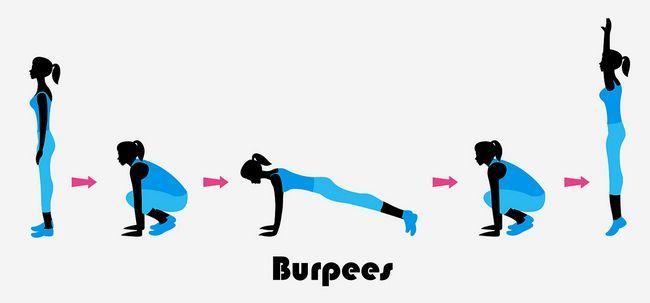 10 benefícios maravilhosos de Burpee treino para fortalecer seu corpo Photo