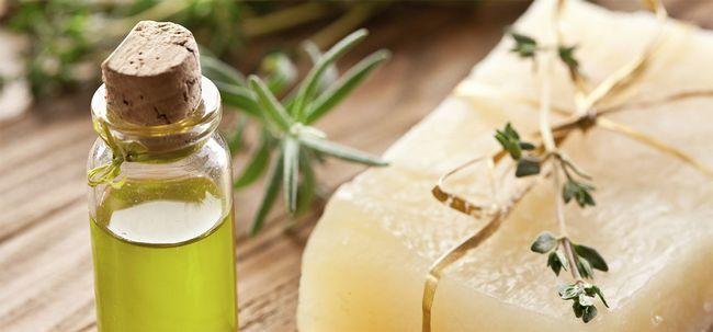 10 benefícios maravilhosos de sabão de óleo da árvore do chá Photo