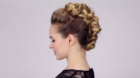 10 Youtube Updo Penteados para inspirá-lo Photo