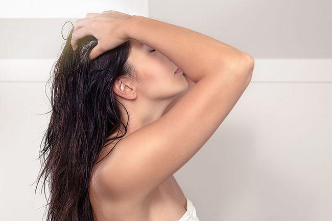 Mantém o cabelo saudável