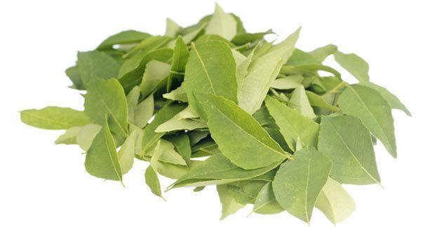 folhas de curry