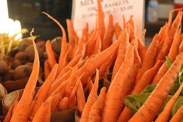 cenouras para a pele