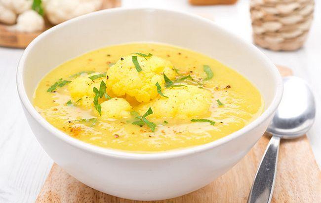 Couve-flor sopa