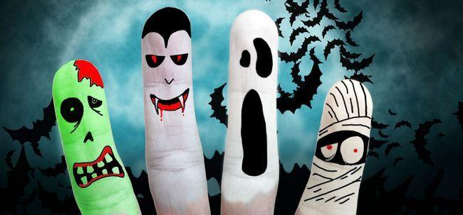 17 ideias de maquiagem de Halloween louco Photo