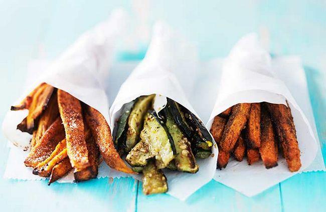 Fazer versões saudáveis e cozidos de seus viciados favoritos para algo muito mais inesperado do que aqueles típicos engordurado batata frita!