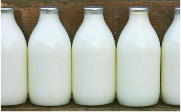 o crescimento do cabelo de leite
