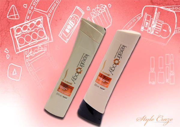 Sunsilk shampoo keratinology