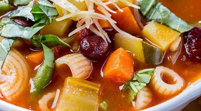 Sopa de Massa saudável