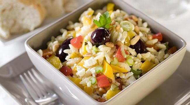 Salada Orzo