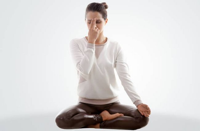 Alternada pelas narinas à Respiração