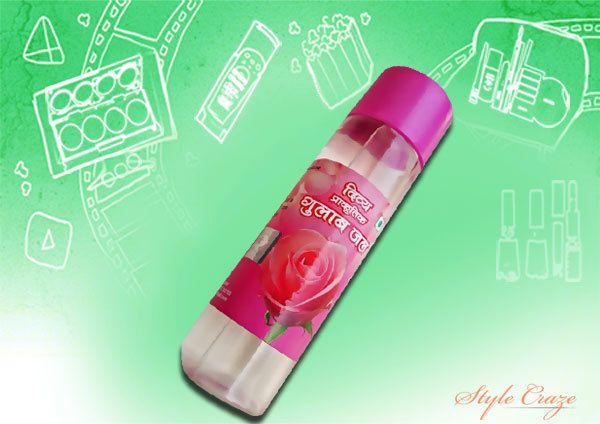patanjali água de rosas