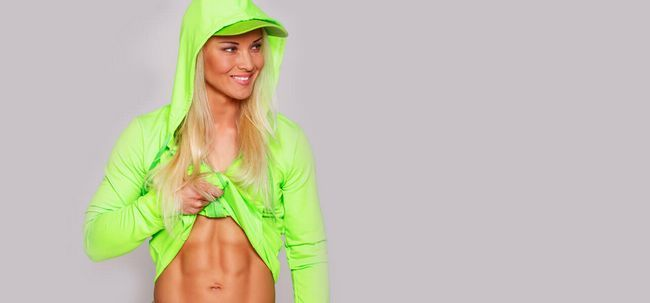 3 Dieta Dicas simples para obter seis Pack Abs Para Mulheres Photo