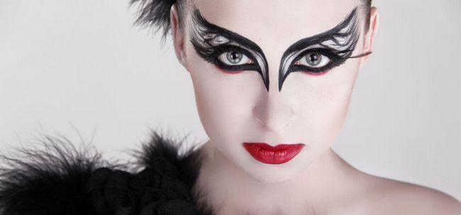 3 truques para fazer Black Swan Maquiagem Photo
