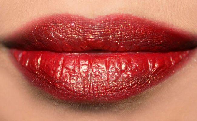 4 passos fáceis para Get Glittery Lips - Tutorial Com Etapas detalhadas e imagens Photo