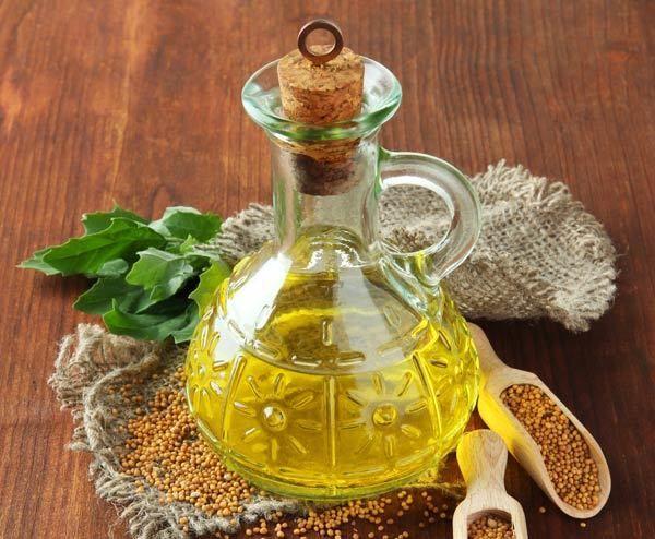 henna óleo de mostarda
