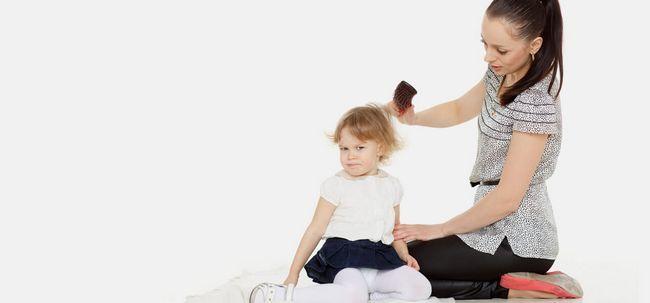 5 remédios eficazes casa para tratar o cabelo cinzento em Crianças Photo