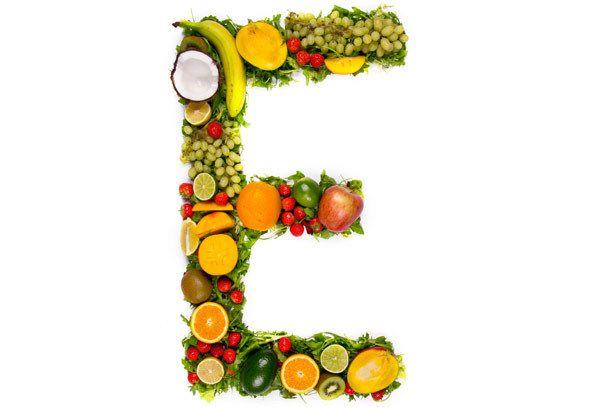 Vitaminas E para a pele