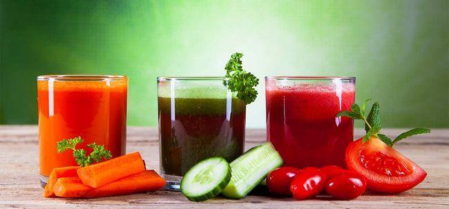 5 sumos de vegetais saudáveis para perda de peso Photo