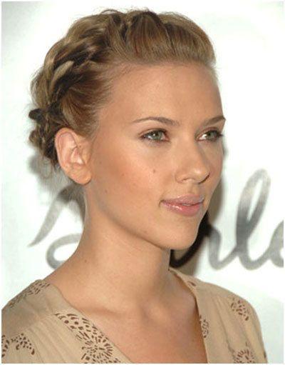 Scarlett Johansson trança