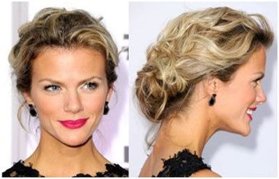 Brooklyn Decker updo