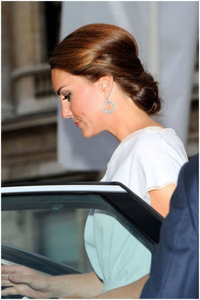Kate Middleton penteados 1