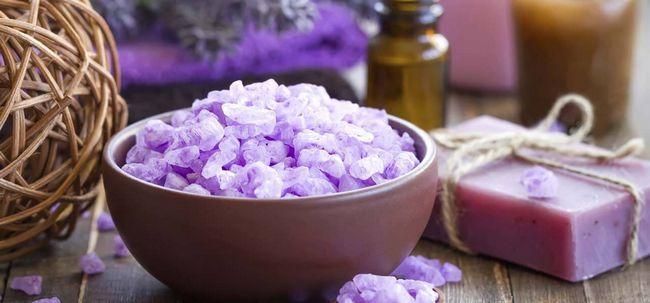 5 Ingredientes Natural Body Scrub Receitas com cozinha Photo