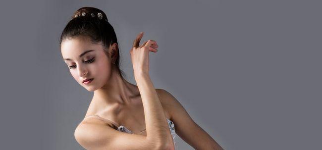 5 passos simples para fazer maquiagem Ballet Photo