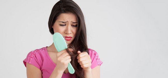 5 maneiras simples para controlar a perda de cabelo devido ao stress Photo