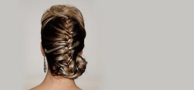 50 Trançado Penteados que são perfeitos para Prom Photo