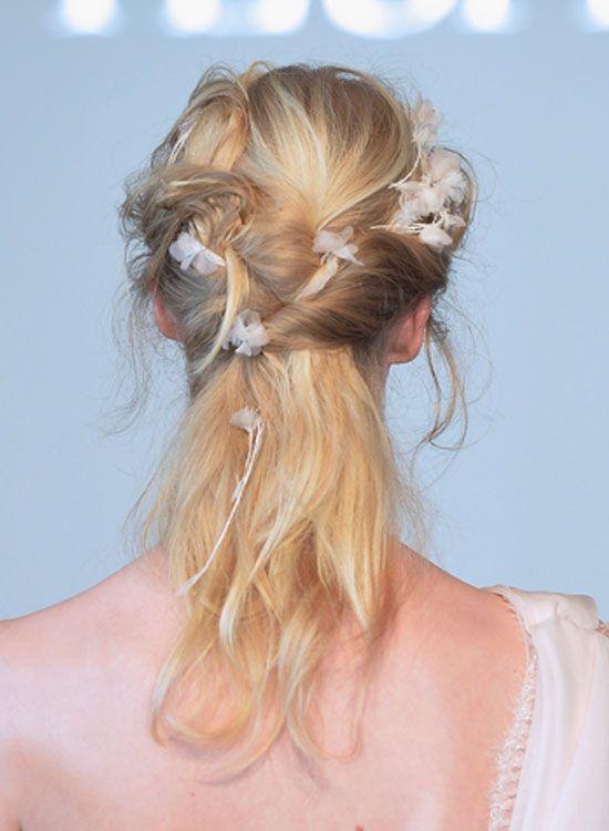 Messy-Twisted-Half-Hairdo