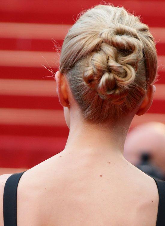 Dividido-and-Altamente Twisted-penteado-com-Volume
