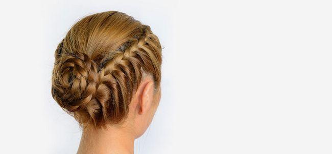 50 entrelaçados em trança Penteados Photo