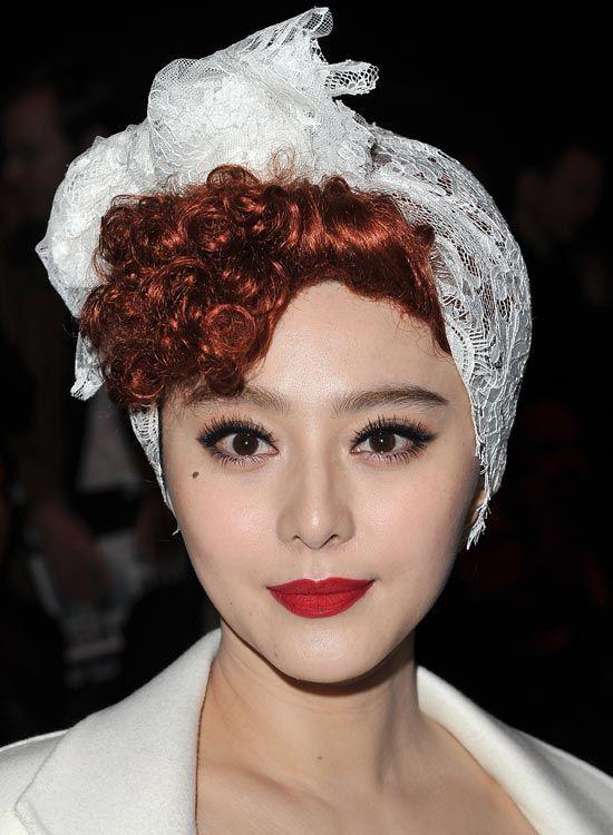 Curly-cabelo-com-Twisted-Front-e-cabelo-Wrap