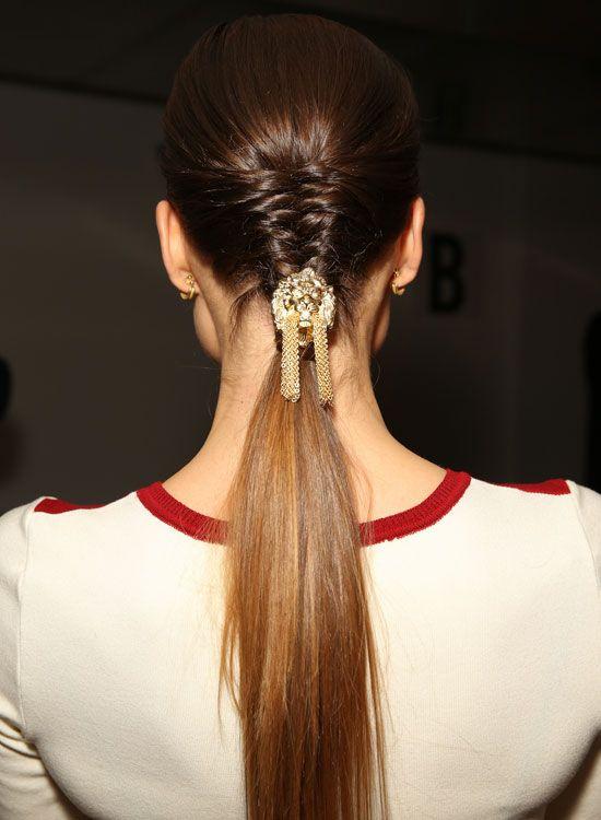 Elegante-Meio-a-meio-penteado